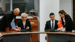 Ντιμιτρόφ: Υπογράψαμε συμφωνία με την Αναγνωστοπούλου στη «μακεδονική» γλώσσα