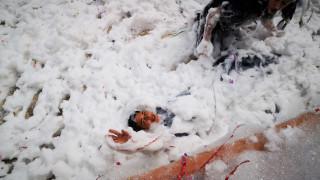 «Πόλεμος» με γιαούρτι και αφρούς: Το Ναύπλιο γιορτάζει τις Απόκριες
