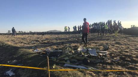 Ethiopian Airlines: Θρήνος για τα 157 θύματα της αεροπορικής τραγωδίας