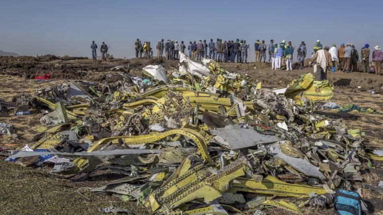 Αιθιοπία - συντριβή αεροσκάφους: Για καπνό κι εναν περίεργο θόρυβο κάνουν λόγο αυτόπτες μάρτυρες