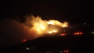 Πυρκαγιά στην Κύμη Ευβοίας