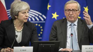 Brexit: Συμβιβασμός της τελευταίας στιγμής για Μέι - Γιούνκερ