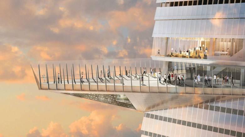 «Περπατώντας στον ουρανό»: Ένα εντυπωσιακό Παρατηρητήριο ανοίγει τις πύλες του στη Νέα Υόρκη