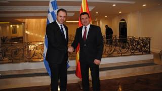 Η πιστή τήρηση της Συμφωνίας των Πρεσπών αντικείμενο της συνάντησης Θεοχαρόπουλου – Ζάεφ