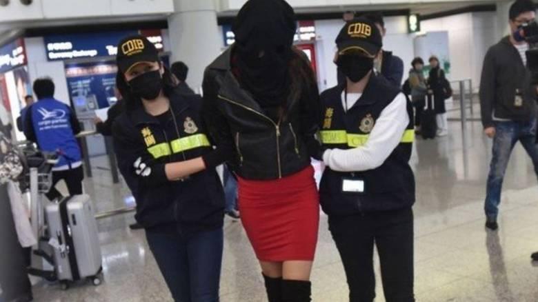Χονγκ Κονγκ: Οι πρώτες εικόνες του 21χρονου μοντέλου μετά την αποφυλάκιση