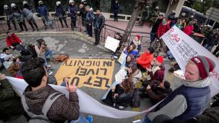 Κινητοποίηση προσφύγων ενάντια στην απομάκρυνσή τους από δομές στέγασης