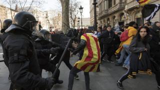 Champions League: Επεισόδια στη Βαρκελώνη με πέντε τραυματίες