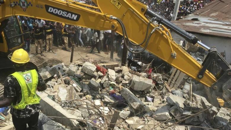Νιγηρία: Τουλάχιστον 8 νεκροί από την κατάρρευση του κτηρίου