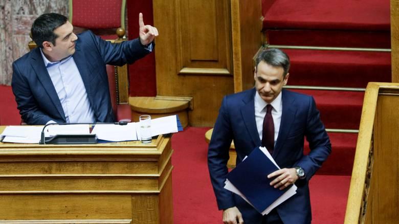«Φωτιά» στο πολιτικό σκηνικό με ένταση και σφοδρή σύγκρουση Τσίπρα - Μητσοτάκη