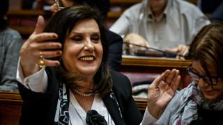«Άντε μη μπουμπουνίσω το ψηφοδέλτιο»: Οργή από τη Μεγαλοοικονόμου στο καφενείο της Βουλής