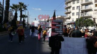 ΠΟΕΔΗΝ: Κινητοποίηση στο κέντρο της Αθήνας