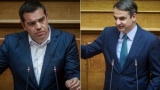 Σφοδρή αντιπαράθεση Τσίπρα - Μητσοτάκη για τη Συνταγματική Αναθεώρηση