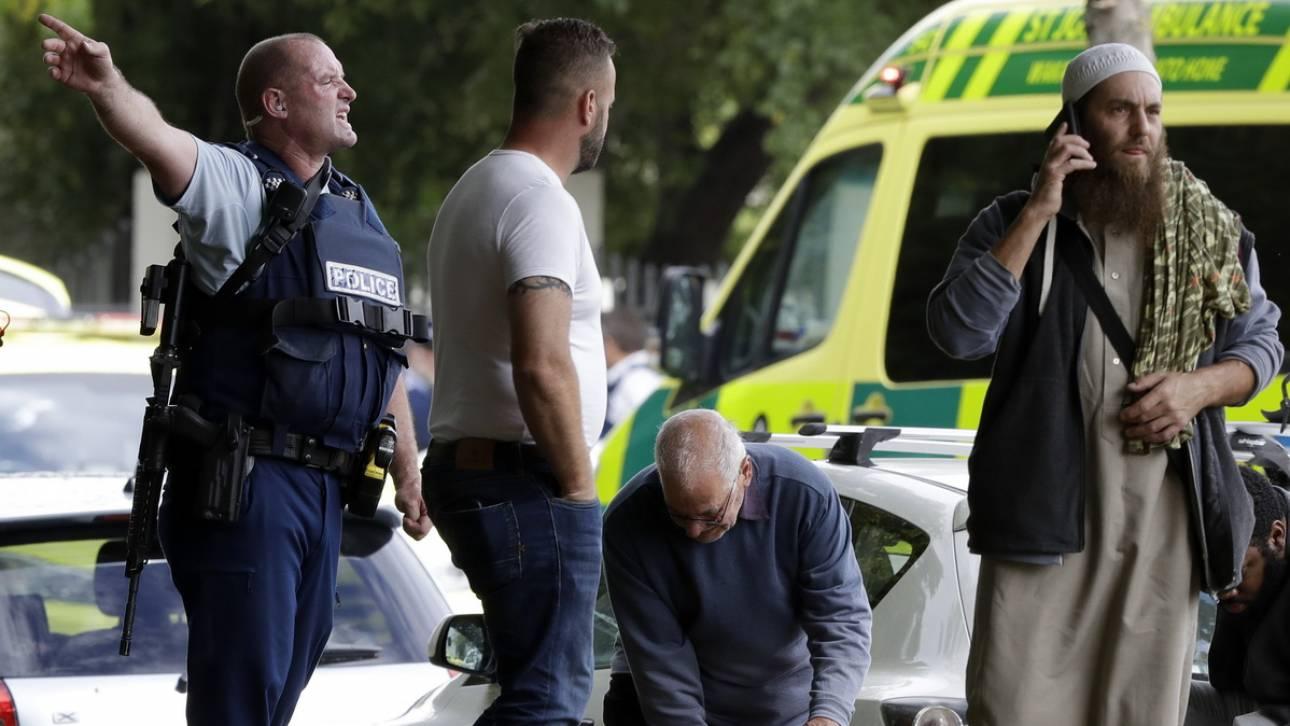 Μακελειό στη Νέα Ζηλανδία: Η αστυνομία επιβεβαιώνει ότι υπάρχουν «πολλοί νεκροί»