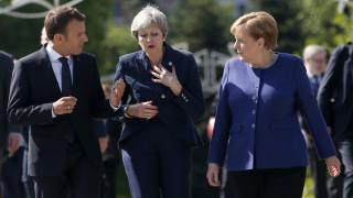 Brexit: Γερμανία και Γαλλία περιμένουν την πρόταση της Μέι