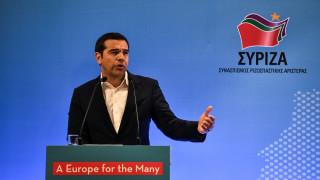 Τσίπρας για ευρωεκλογές: Δεν πρέπει να βγουν αλώβητες οι δυνάμεις της λιτότητας