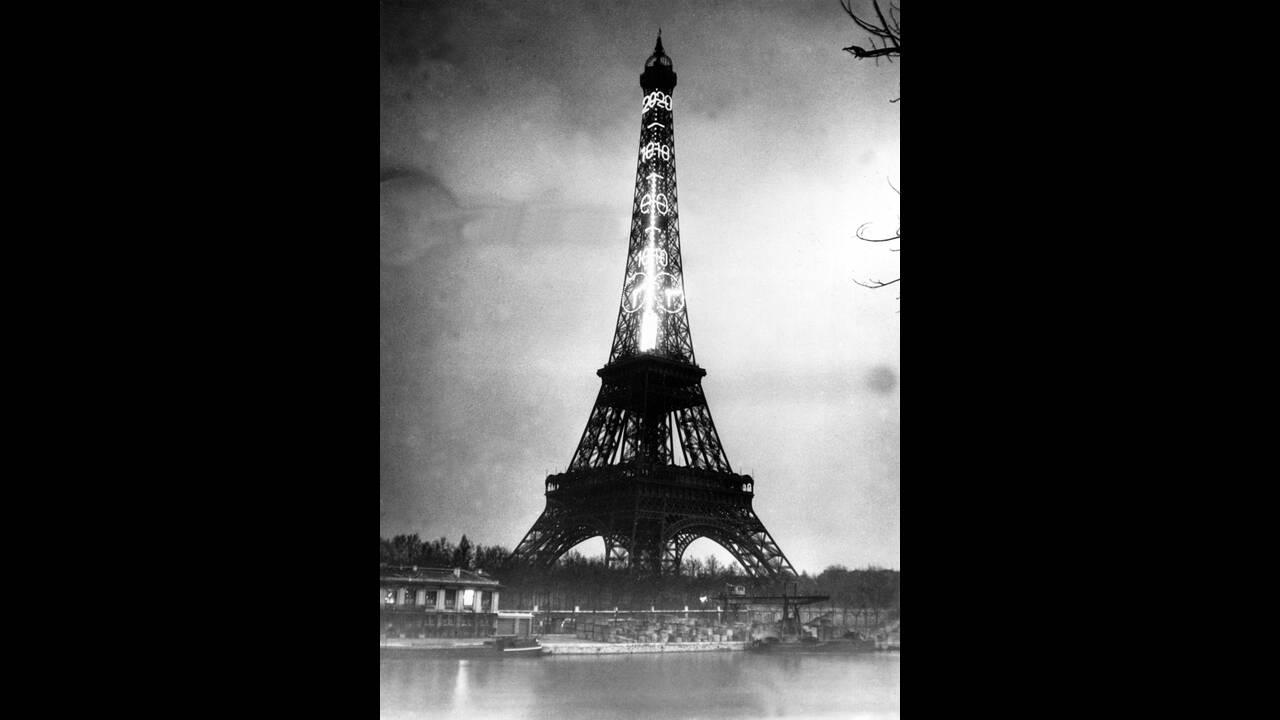 1934 Ο Πύργος του Άιφελ φωταγωγείται με ηλεκτρικό ρεύμα ώστε να μοιάζει με ένα τεράστιο θερμόμετρο. Οι βαθμοί Κελσίου δείχνονται με ένα φωτεινό τόξο.