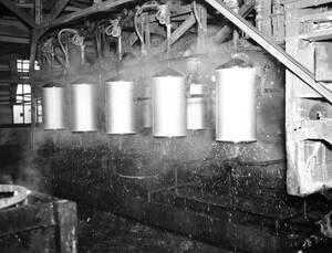 1937 Μια άποψη των εργαστηρίων του Τόμας Έντισον.