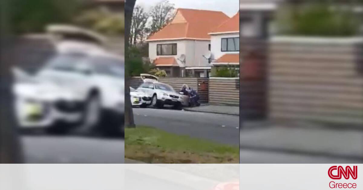 Νέα Ζηλανδία Facebook: Μακελειό Νέα Ζηλανδία: Βίντεο από τη στιγμή της σύλληψης