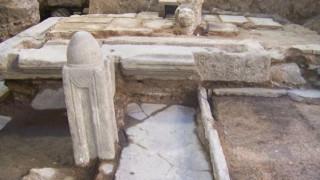 Θεσσαλονίκη: Αρχαία τείχη στο φως από τις ανασκαφές του μετρό
