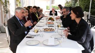 Γεύμα στο Μέγαρο Μαξίμου για τους νέους υποψηφίους ευρωβουλευτές του ΣΥΡΙΖΑ