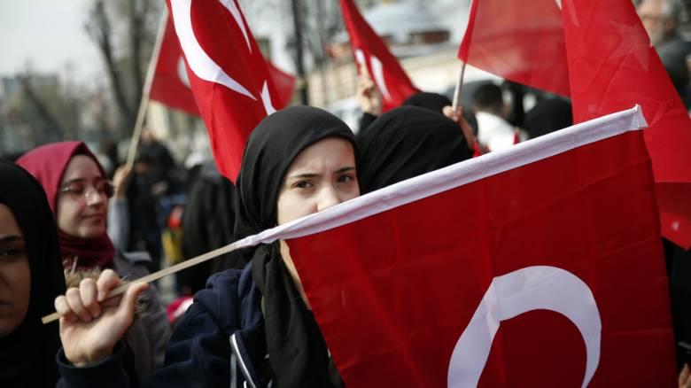 Τουρκία: Συμβολική κηδεία έξω από την Αγιά Σοφιά για τους 50 νεκρούς του Κράιστσερτς