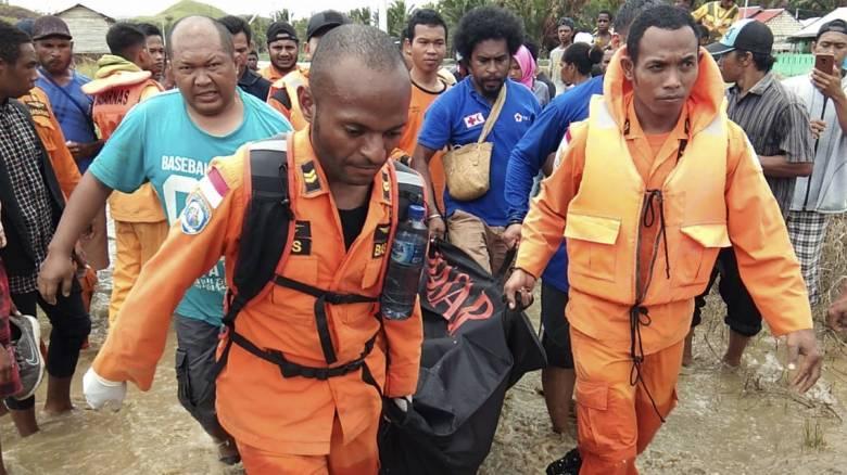 Ινδονησία: Δεκάδες νεκροί από πλημμύρες στην ανατολική επαρχία Παπούα