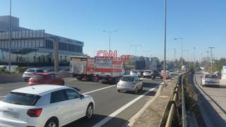«Έμφραγμα» στην Αθηνών - Λαμίας: Ούρες χιλιομέτρων μετά από τροχαίο
