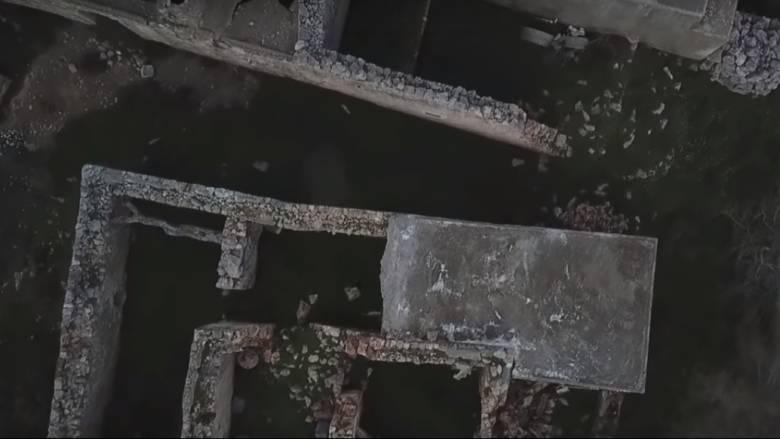 Το χωριό «φάντασμα» της Κρήτης από ψηλά