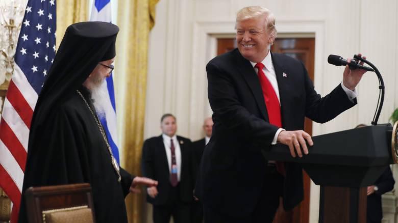 Ντόναλντ Τραμπ: Οι ΗΠΑ έχουν διαμορφωθεί από τον ελληνικό πολιτισμό