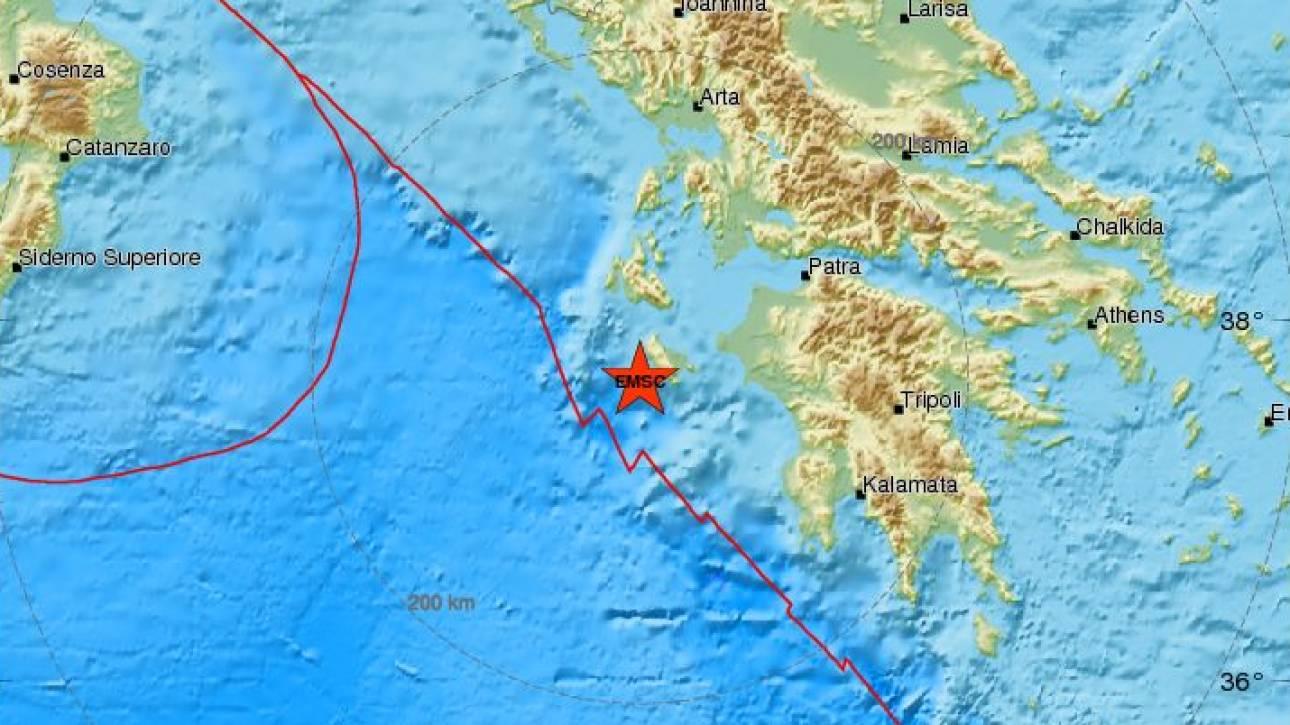 Νέος σεισμός στη Ζάκυνθο