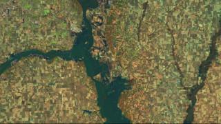 Πριν και μετά: Όταν τα ποτάμια «καταπίνουν» ολόκληρες πόλεις