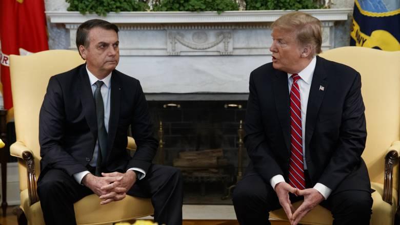 Ο Τραμπ εξετάζει την ένταξη της Βραζιλίας στο ΝΑΤΟ