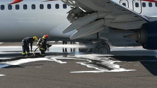 Φωτιά σε αεροσκάφος στην Τεχεράνη