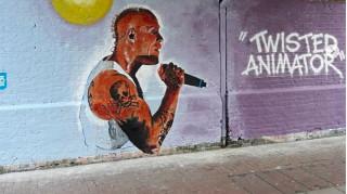 Λονδίνο: Ένα γκράφιτι προς τιμήν του Κιθ Φλιντ των Prodigy