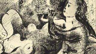 Στο «σφυρί» σκίτσο του Πικάσο: Αναμένεται να πιάσει πάνω από 300.000 ευρώ!