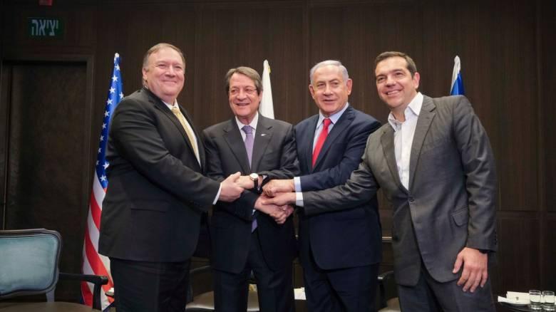 Ισραήλ: Δέσμευση Πομπέο για αμερικανική στήριξη του East Med