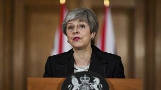 Κάλεσμα Μέι στο βρετανικό Κοινοβούλιο να στηρίξει τη συμφωνία για το Brexit