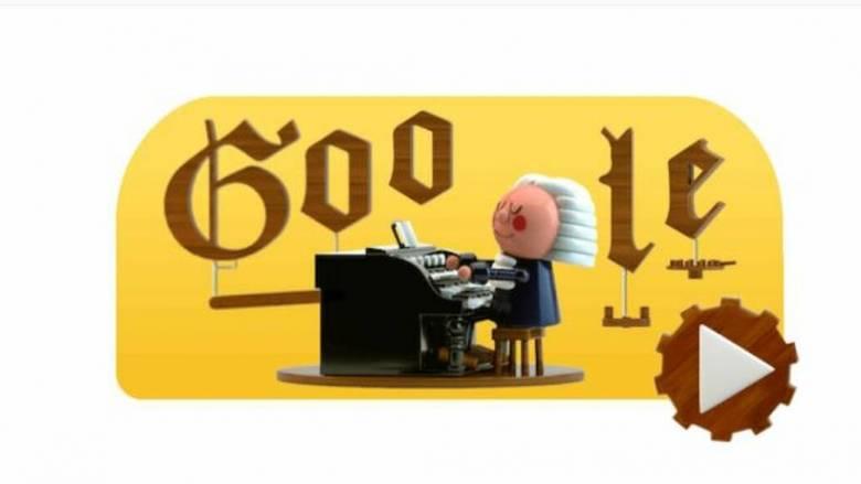 Γιόχαν Σεμπάστιαν Μπαχ: To απίστευτο Doodle της Google για τον διάσημο συνθέτη