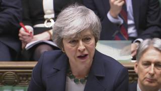 Brexit: Αρνητικά σχόλια και έντονη κριτική των βουλευτών προκάλεσε η δήλωση της Μέι