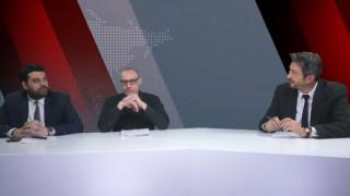 Αντιλογίες: Κ. Δέρβος και Κ. Γρηγοριάδης στο στούντιο του CNN Greece