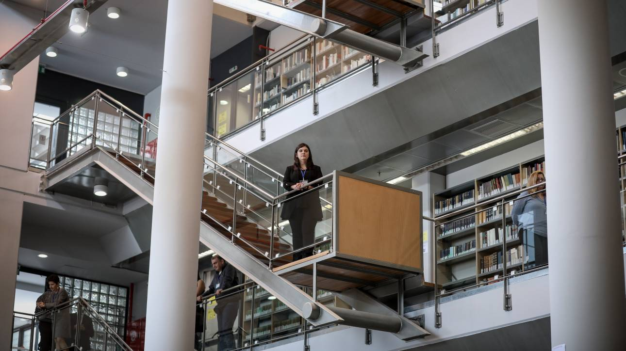 Εγκαινιάστηκε η εντυπωσιακή Βιβλιοθήκη της Φιλοσοφικής Σχολής