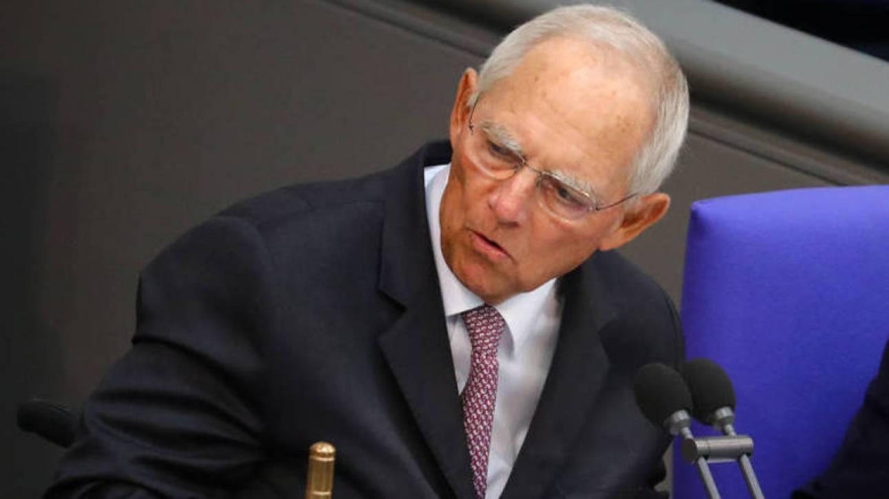 Σόιμπλε: Έφτασα στα πρόθυρα της παραίτησης λόγω της Ελλάδας