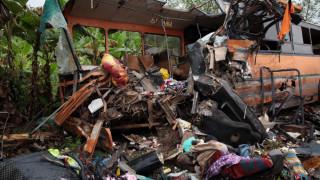 Γκάνα: Πάνω από 60 νεκροί σε μετωπική σύγκρουση λεωφορείων