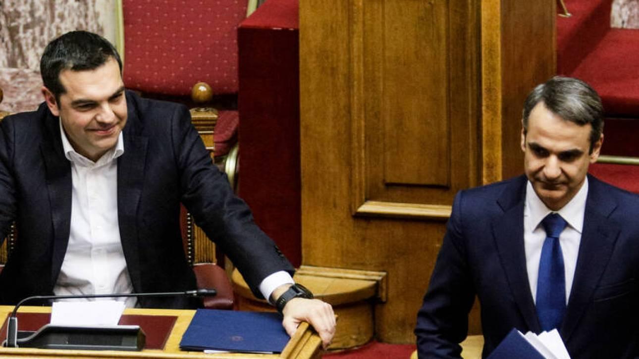 Μονοψήφια διαφορά μεταξύ ΣΥΡΙΖΑ – ΝΔ καταγράφει νέα δημοσκόπηση