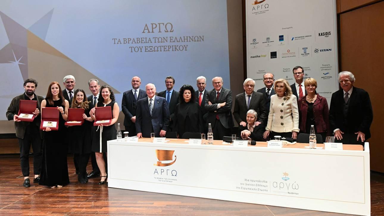 Βραβεία «ΑΡΓΩ» για τους Έλληνες που κάνουν την Ελλάδα γνωστή και περήφανη στο εξωτερικό