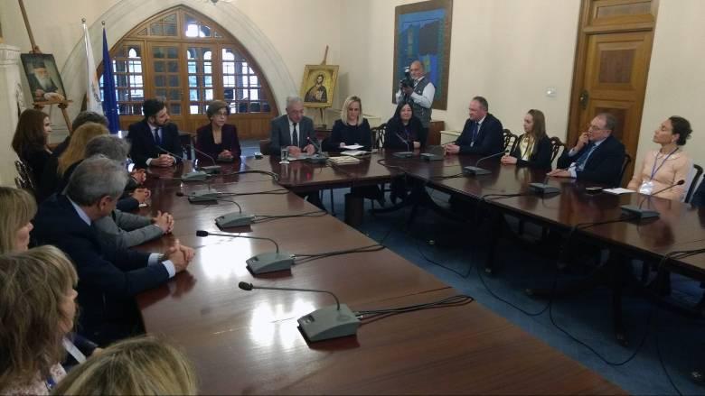 Συνεργασία Αθήνας-Λευκωσίας για ανάδειξη του επιχειρηματικού οικοσυστήματος της Κύπρου