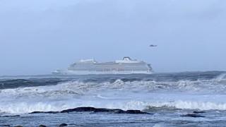 Νορβηγία: Συνεχίζεται η επιχείρηση διάσωσης επιβατών από το κρουαζιερόπλοιο
