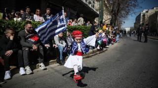 25η Μαρτίου: Στιγμιότυπα πριν την παρέλαση
