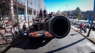 25η Μαρτίου: Μεγαλειώδης στρατιωτική παρέλαση στο κέντρο της Αθήνας