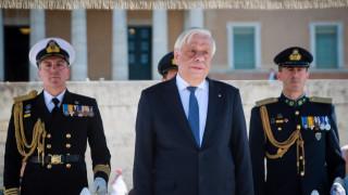 Παυλόπουλος: «Μολών Λαβέ» σε όποιον διανοηθεί να επιβουλευτεί την ελευθερία μας